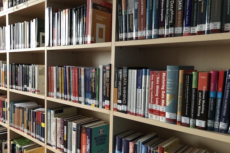 Nákup nových knih