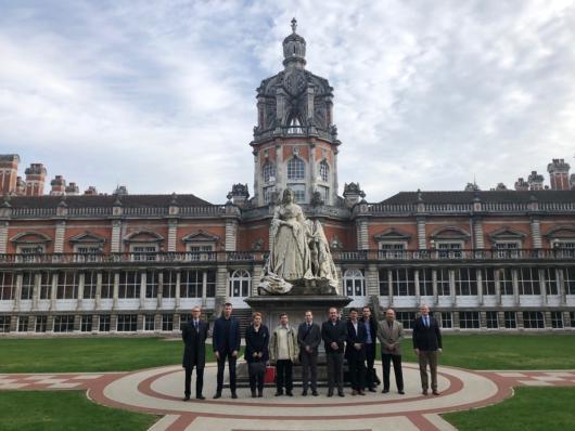 Účast členů katedry na expertní misi v Londýně