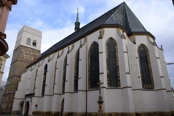 Webová prezentace kostela sv. Mořice